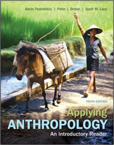 Applying Anthropology: An Introductory Reader 10th Edition by Aaron Podolefsky, Peter Brown, Scott Lacy